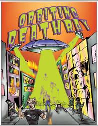 Orbiting Death Ray Tshirt by megamike75