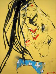 Wonder Woman by JimMahfood-FoodOne