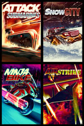 Game Covers by el-douglas