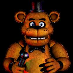 Freddy Fazbear Icon by luizcrafted