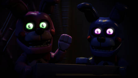 Two Clever Puppets by luizcrafted
