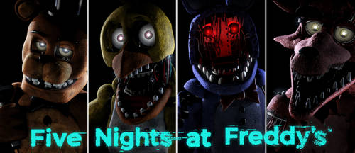 Five Nights at Freddy's Wallpaper (Remaster) by luizcrafted