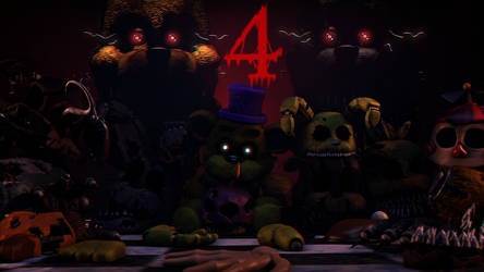 Five Nights at Freddy's 4 by luizcrafted