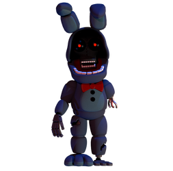 Withered Bonnie Edit by luizcrafted