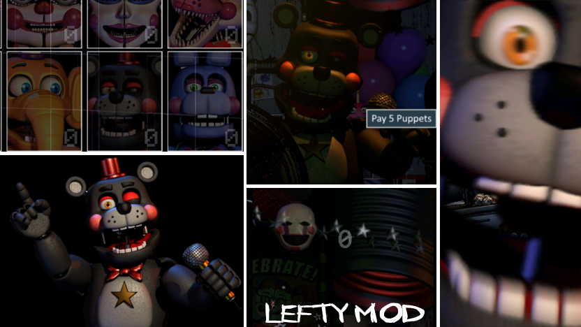 Lefty Mod by luizcrafted