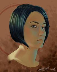 Self Portrait by weenie
