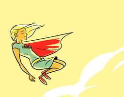 Supergirl Redesign by dryponder