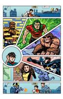 Marvel Superheroes Bar Mitzvah by dryponder
