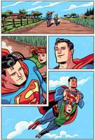 Superman - Flight by dryponder