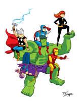 Avengers Assembled by dryponder