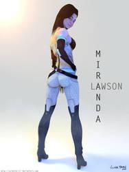 Miranda Lawson Render by SniperGiirl