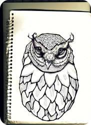 Owl by Eedethnius