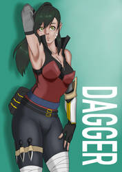 Requested Drawing | Dagger by xiongtp