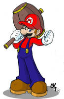 Mario - Hammer Time by CKT-INC