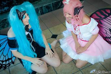 xxxholic - Maru and Moro by alienrobot