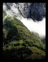 Foggy Mountainside by typhlosion