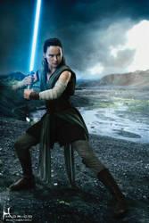 Rey - The Last Jedi by Hidrico