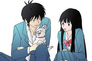 Kazehaya Shouta and Kuronuma Sawako by Haseo-Xth