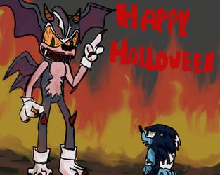 Happy Halloween by Sonicchica