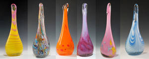 Mane 6 *Vases* by The1King