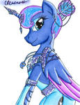 The Elegant Princess of the Night by The1King