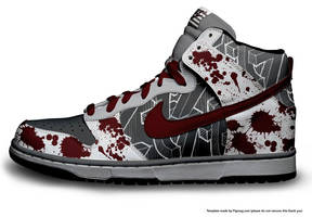 nike high tops3 by CalledTheBeast
