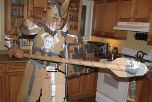 box wars costume 2009 by Wookieoftheyear