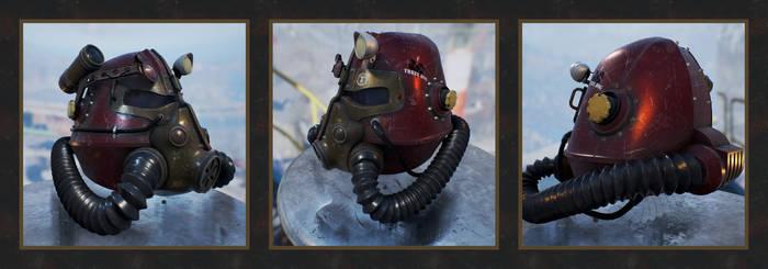 T-45 Power Armor Helmet (Fallout) by Daniel-Venice