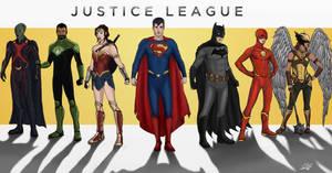 Justice League by JackNapierlauching