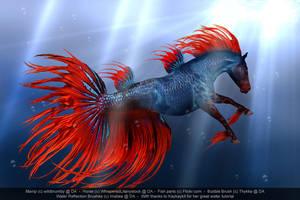 Hippocampus Splenda by wildbrumby