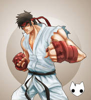Ryu by hanzthebox
