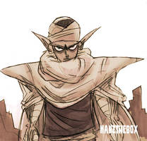 Piccolo-Sketch by hanzthebox