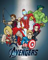 Avengers by hanzthebox