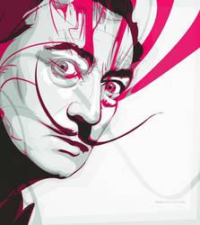 Salvador Dali's garden party by noapc