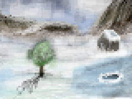 The Tundra Wastes by SilverBlazeBrony