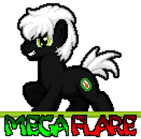 Mega Flare by SilverBlazeBrony