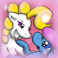 AHL - Non-canon fun times with Ditto Prize by SilverBlazeBrony