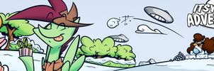 Itsy Bitsy Adventures - Winter Katbox Banner by SilverBlazeBrony