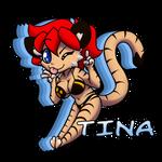 Tina (art trade) by SilverBlazeBrony