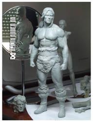 Conan, The barbarian by Pedro-Moretto