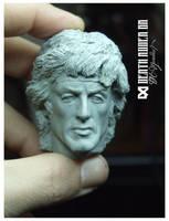 Stallone Rambo by Pedro-Moretto