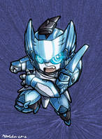 Superdeformers: Blurr COLOUR by MZ15