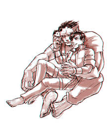 Bizarro and Jason by MZ15