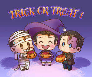 Trick or Treat by MZ15