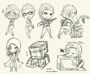 The evil within_WIP by ChanmanNo-7