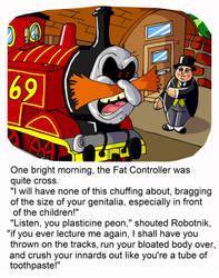 Robotnik the Yank-it Engine by mightyfilm