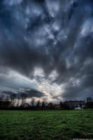 Cloudy Night 14567854 by StockProject1