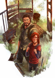 The Last of Us by kou-chann