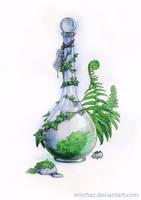 June Memory Bottle by Mirchaz