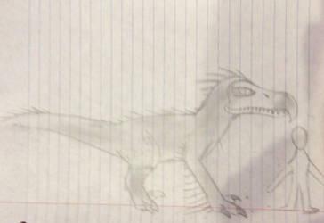 Dodoraptor Ark concept  by ghaztmaster2